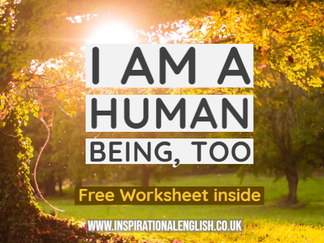 I am a human being, too
