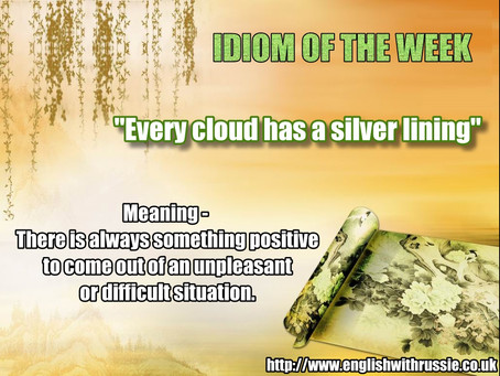 an Idiom of the Week