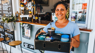 Cafes - how to host a 'Use Your Own Cup Day'