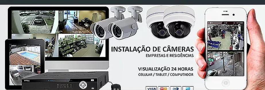 insalação de cameras