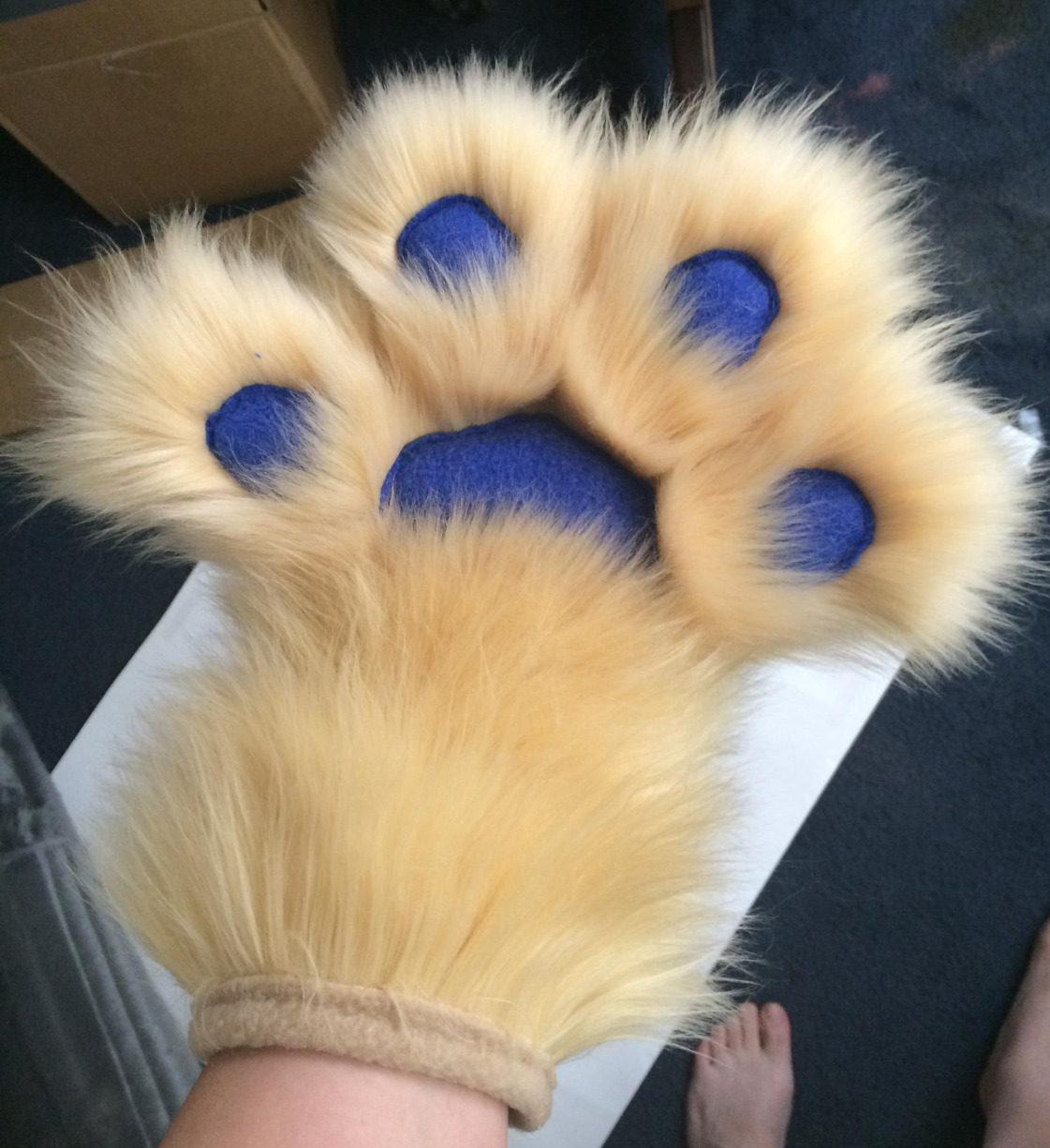 4-finger handpaw