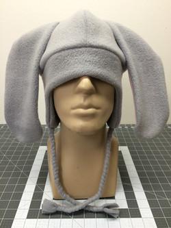 Bunny fleece hat