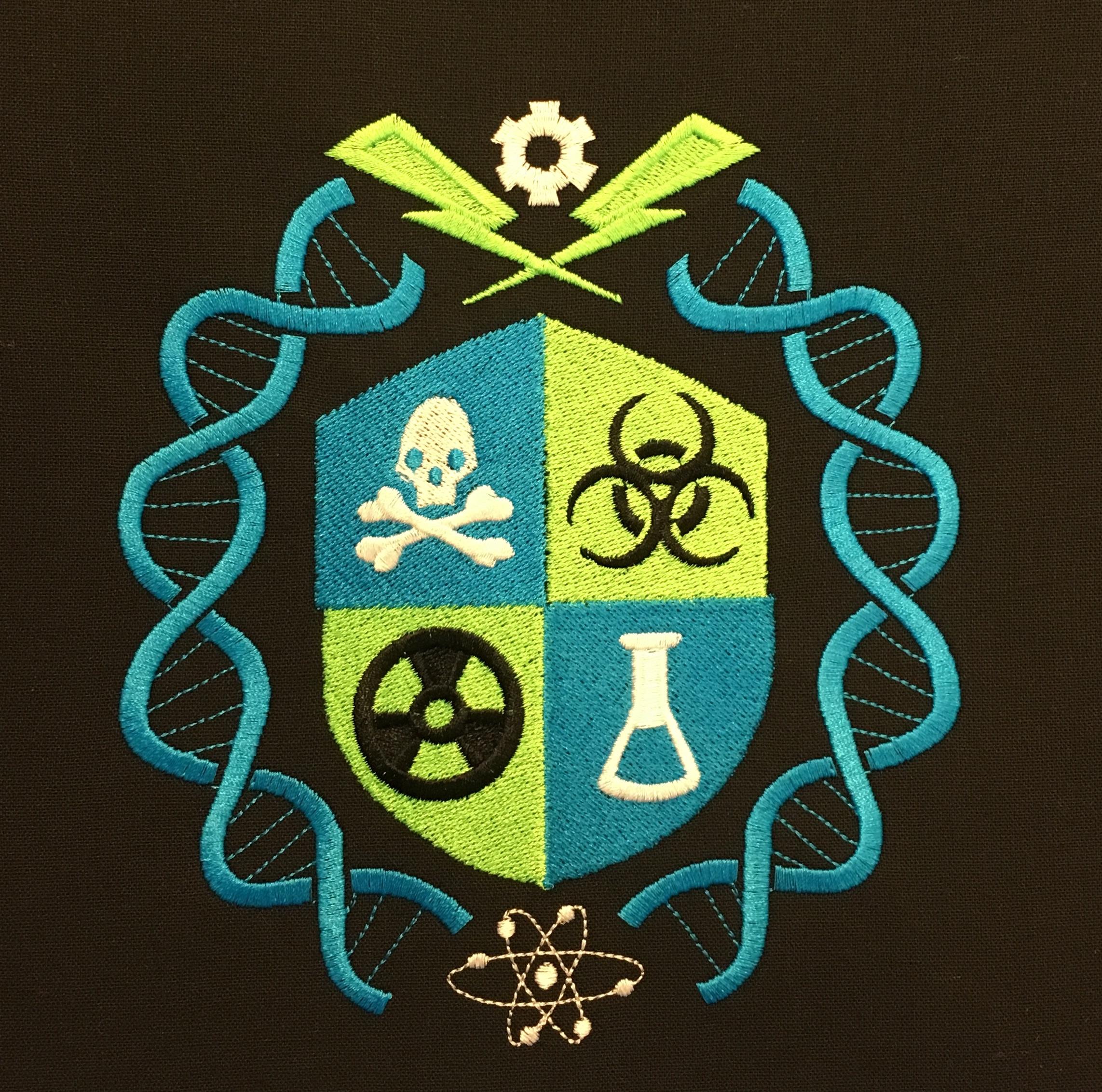 Mad Scientist Crest