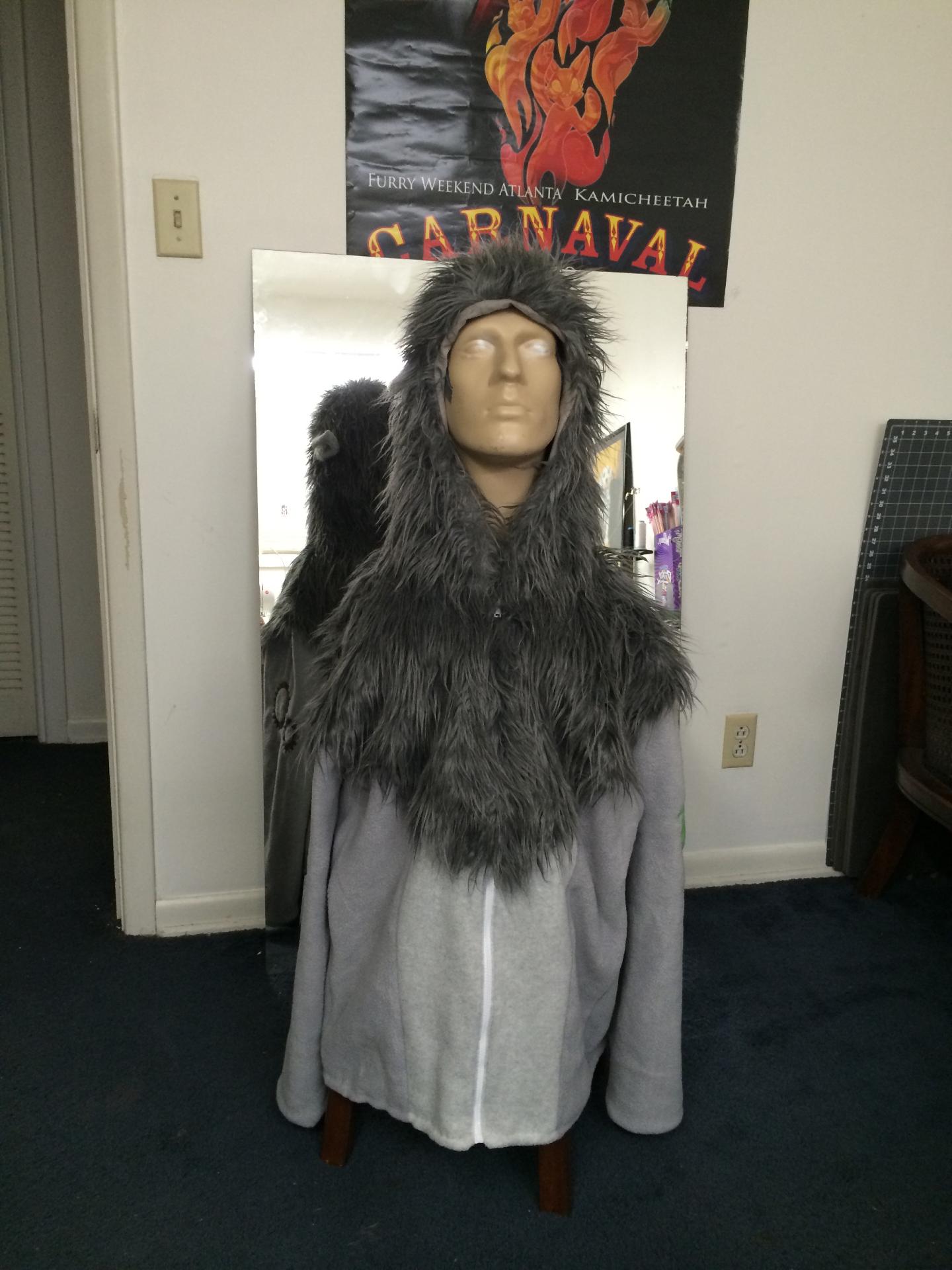 Druid inspired hoodie