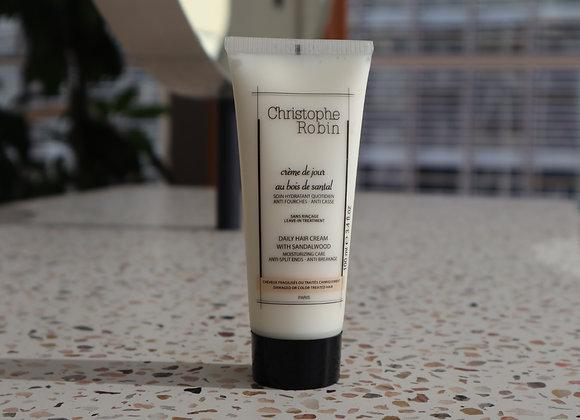 Christophe Robin Daily Hair Cream with Sandalwood