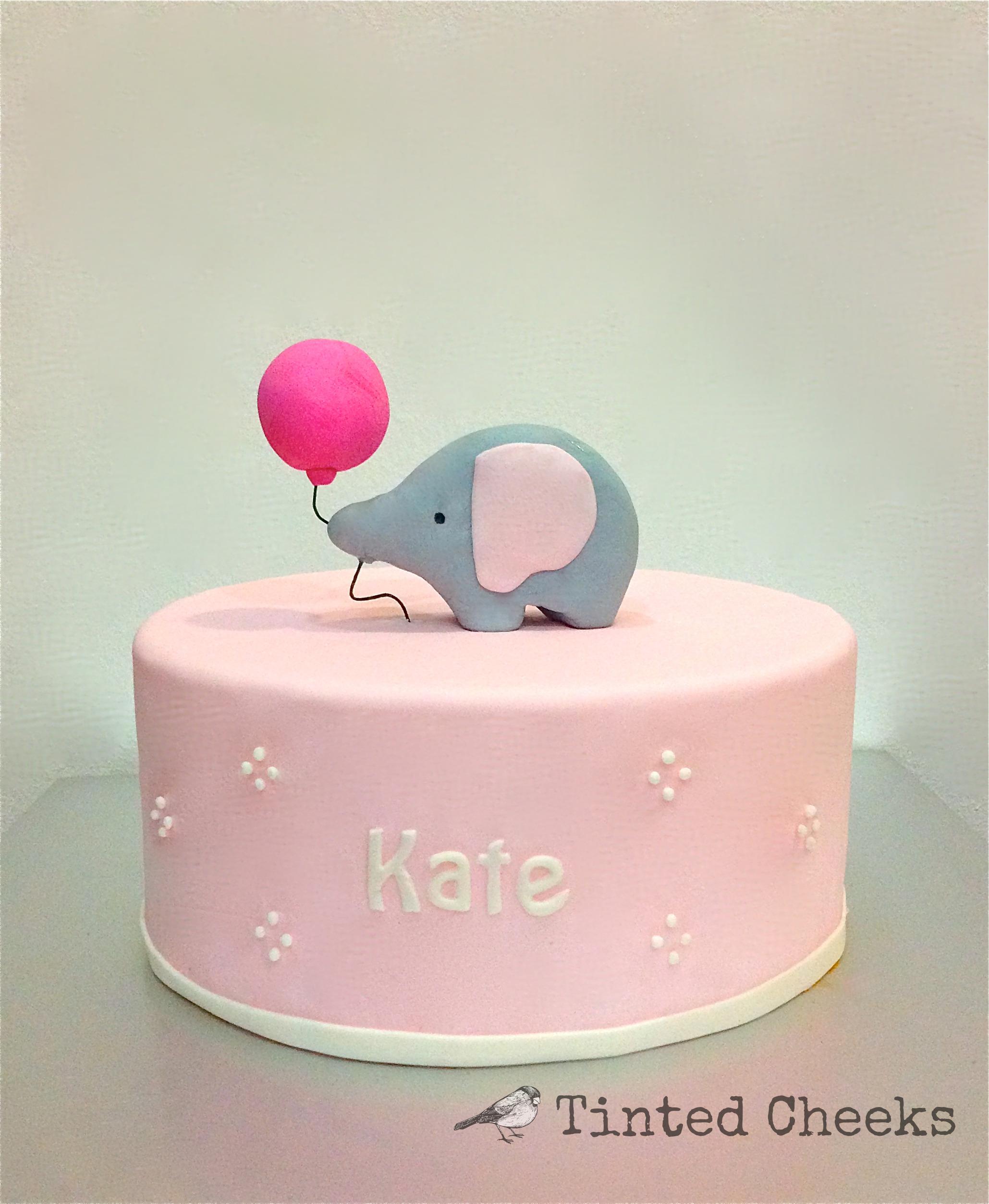 Baby Elephant Balloon Cake.jpg