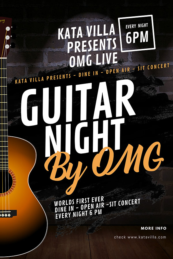 Copy of Guitar Concert Flyer Design Temp