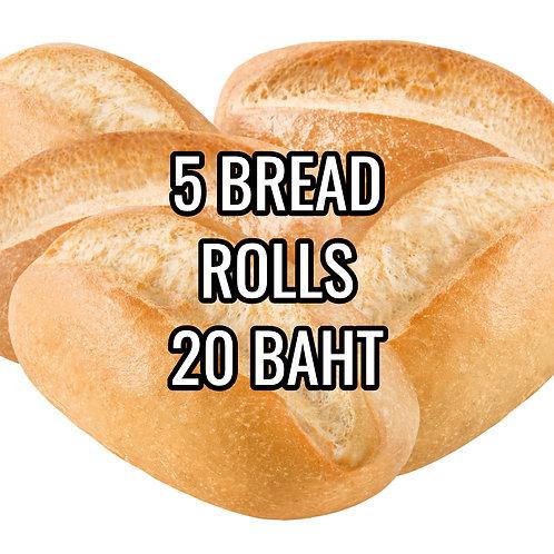5 BREAD ROLLS