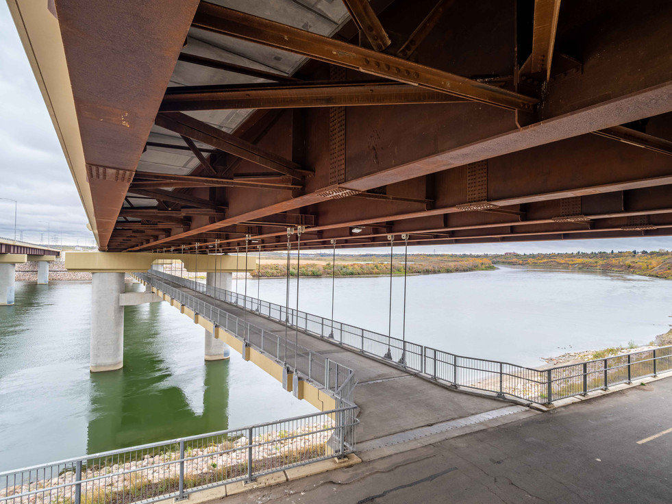 Anthony Henday Pedestrian Bridge (Eagle