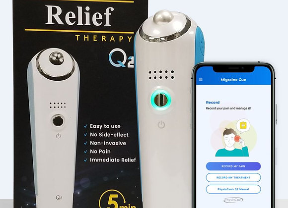 PhysioCue Q2 Headache & Migraine Smart Therapy Device