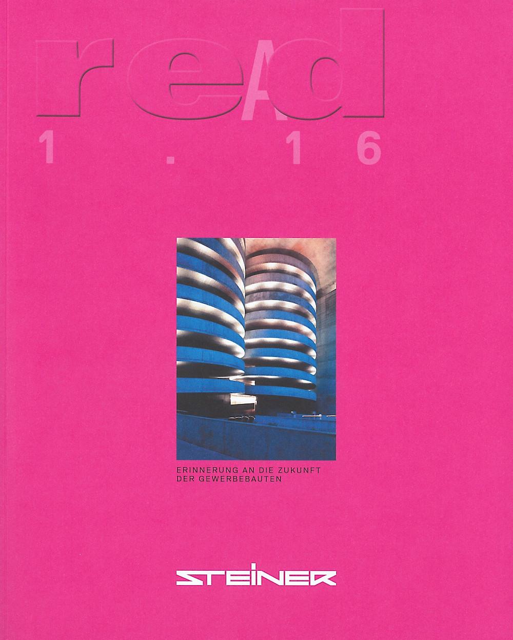 """""""reAd"""" Magazin von Steiner"""