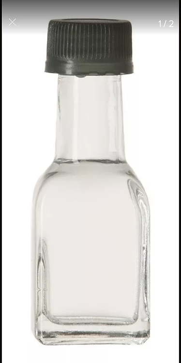 20 ml frasco cuadrado