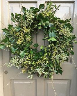 Botanical foliage british wreath