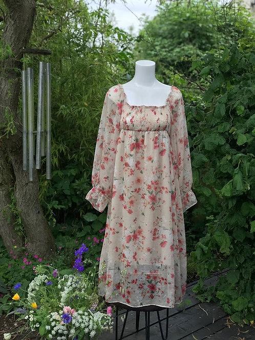 Floral floaty dress