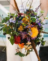 Autumnal Wedding bouquet