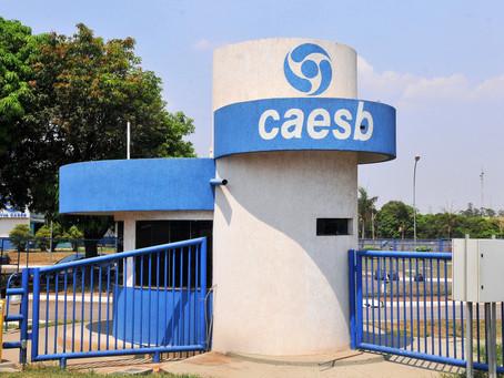 A partir desta quarta-feira, as contas da Caesb não serão mais aceitas pela Caixa Econômica