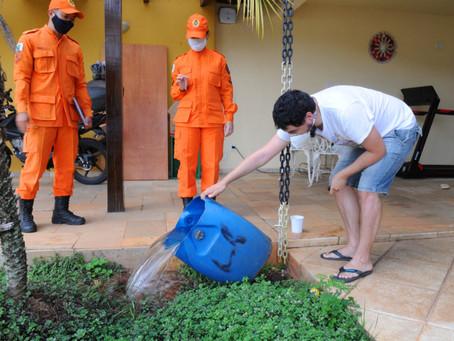 Corpo de Bombeiros do DF inspecionou mais de 16 MIL imóveis contra a dengue