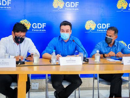A Secretaria de Saúde descarta a possibilidade de falta da 2ª dose da vacina contra a covid no DF