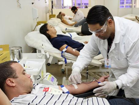 """Secretaria Executiva de Valorização e Qualidade de Vida e Hemocentro lançam campanha """"Sangue é Vida"""""""
