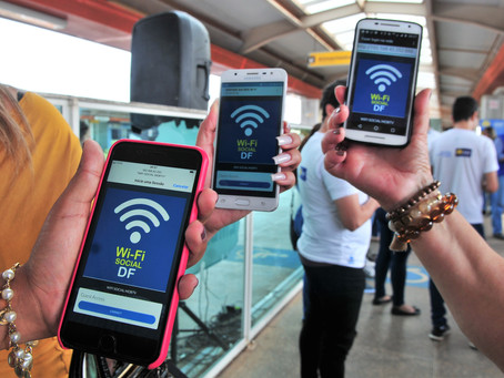 Wi-fi Social contempla, também, a Feira Permanente do Riacho Fundo