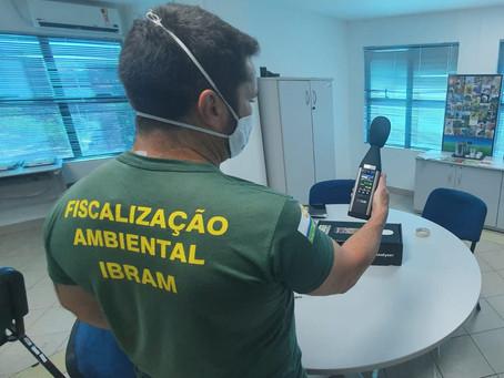 IBRAM compra 10 decibelímetros e 18 calibradores, equipamentos para medição de poluição sonora