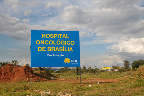 Foi assinada nessa quarta, a ordem de serviço para a construção do Hospital Oncológico de Brasília