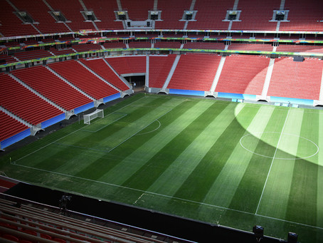 O Estádio Mané Garrincha está na disputa para sediar a final da Copa Sul-Americana em 2021