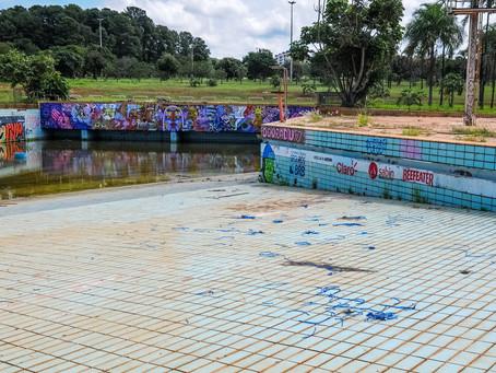 A piscina de ondas do Parque da Cidade será reativada depois de duas décadas desativada