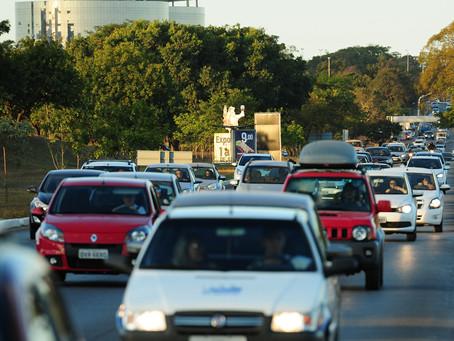 O Detran apreendeu nessa segunda-feira um carro com 280 infrações de trânsito