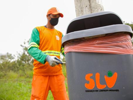 População do DF pode escolher pontos para o SLU instalar 7.300 lixeiras