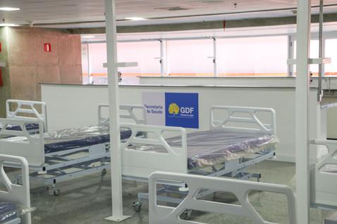 Escolha das empresas que vão gerir novos hospitais de campanha no DF segue até 18h desta quinta