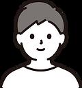 男性‗1名‗顔‗短髪‗白服.png