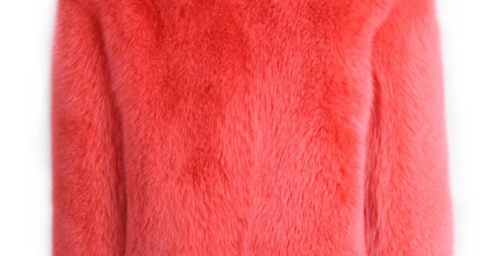 Two Tone watermelon coat