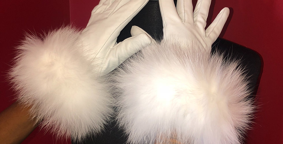 Leather Gloves (Fox)
