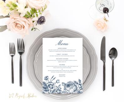 Dinner Menu | Annabelle Suite | Bojack Studios