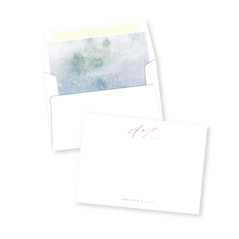Modern Watercolor Thank You Cards | Addison Graphique by Bojack Studios