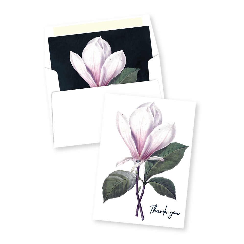Modern Floral Thank You Card | Addison Fleur | Bojack Studios