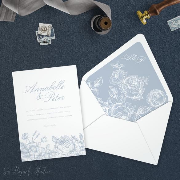 WEDDING INVITATION - Annabelle Suite - B