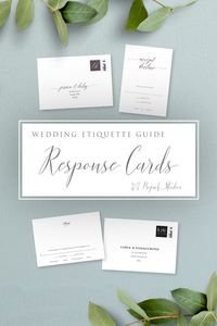 Wedding Reply Card Guide
