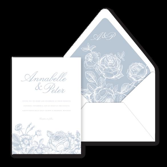 Annabelle Wedding Invitation- Bojack Stu
