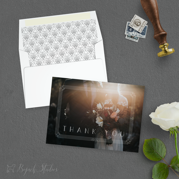 THANK YOU CARD - Ella Suite by Bojack St