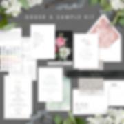 Sample Kit Wedding Invitations by Bojack Studios