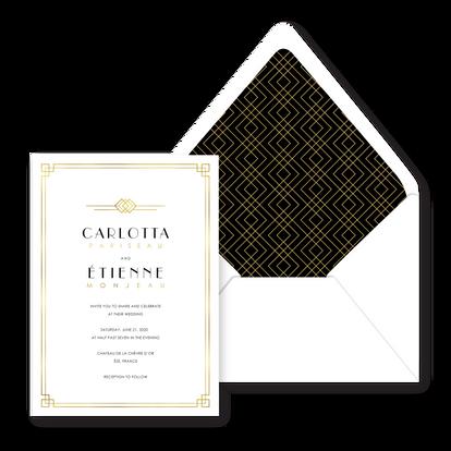 Carlotta Wedding Invitation - Bojack Stu