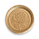Wax seals all colors assorted_Gold Rose.