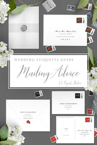 Wedding Invitation Mailing Guide