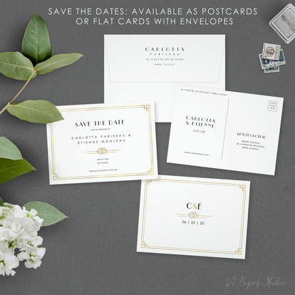 Carlotta Suite Save The Date by Bojack S