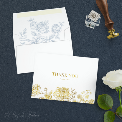 THANK YOU CARD - Annabelle Suite - Bojac