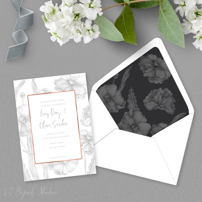 Lucy Wedding Invitation - Bojack Studios