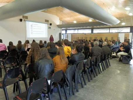 Supervielle : signature d'une nouvelle convention et intervention auprès des lycéens