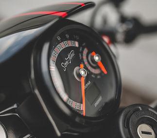 Custom Speedo to match the watch!